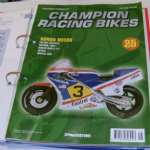 DeAGOSTINI CHAMPION RACING BIKES Issue 25 HONDA NS500 Magazine